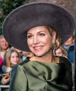 Queen Máxima, Feb 18, 2017 in Fabienne Delvigne | Royal Hats