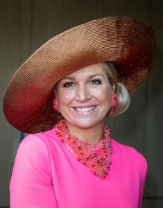 Queen Máxima, Feb 21, 2017 in Fabienne Delvigne | Royal Hats