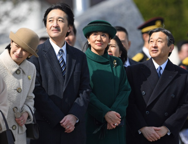 Princess Kiko and Princess Masako, Feb 28, 2017 | Royal Hats