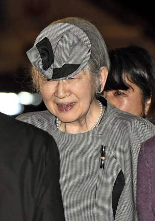 Empress Michiko, Mar 6, 2017 | Royal Hats