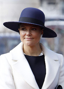 Crown Princess Victoria, Mar 13, 2017 | Royal Hats