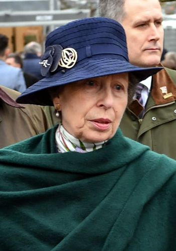 Princess Anne, Mar 17, 2017 | Royal Hats