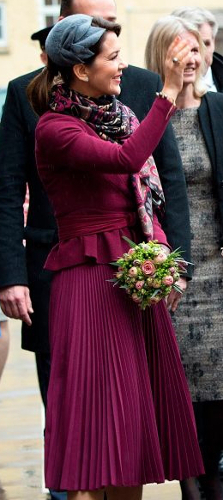 Crown Princess Mary, Mar 29, 2017 in Susanne Juul | Royal Hats