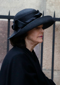 Queen Silvia, Mar 30, 2017 | Royal Hats