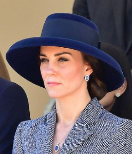 Duchess of Cambridge, Mar 10, 2017 in Lock & Co. | Royal Hats
