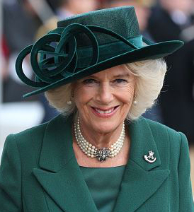 Duchess of Cornwall, Mar 10, 2017 in Philip Treacy | Royal Hats