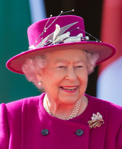 Queen Elizabeth, Mar 13, 2017 in Angela Kelly | Royal Hats