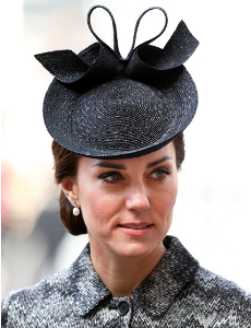 Duchess of Cambridge, April 5, 2017 in Lock & Co. | Royal Hats