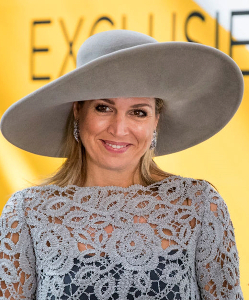 Queen Máxima, Apr 7, 2017 in Fabienne Delvigne | Royal Hats