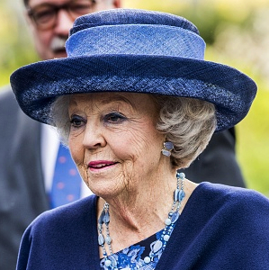 Princess Beatrix, Apr 7, 2017 | Royal Hats