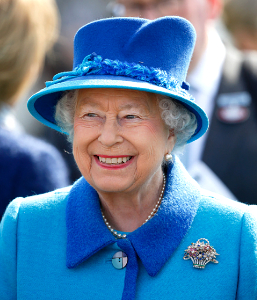 Queen Elizabeth, Apr 22, 2017 in Angela Kelly | Royal Hats