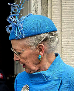 Queen Margrethe, April 1, 2017 | Royal Hats