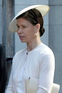 Lady Sarah Chatto, April 7, 2017 in Stephen Jones | Royal Hats