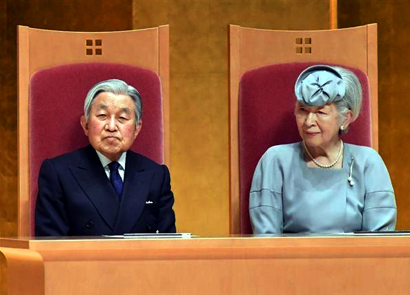 Empress Michiko, April 26, 2017 | Royal Hats