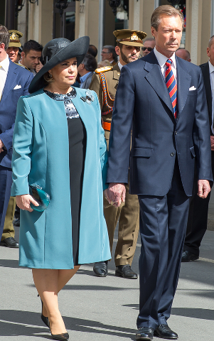 Grand Duchess Maria Teresa, May 21, 2017 | Royal Hats