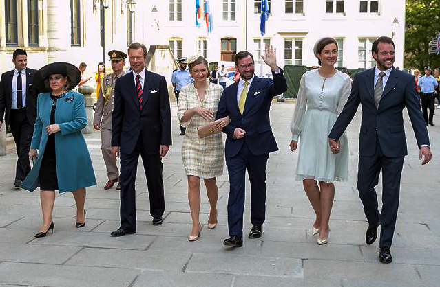 Luxembourg Royal Family, May 21, 2017 | Royal Hats