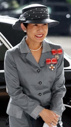 Princess Hisako, May 25, 2017   Royal Hats