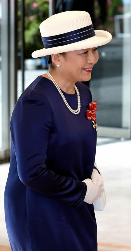 Princess Nobuko, May 25, 2017   Royal Hats