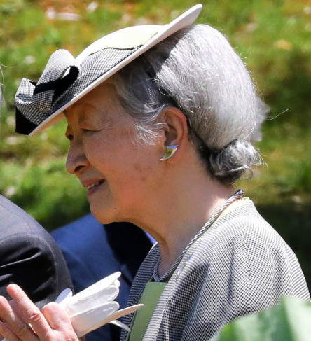 Empress Michiko, May 28, 2017 | Royal Hats