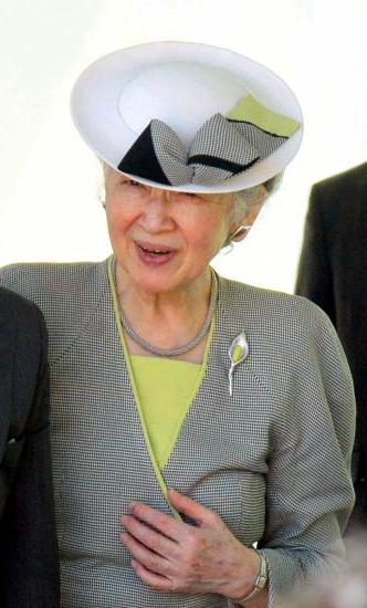Empress Michiko, May 28, 2017   Royal Hats