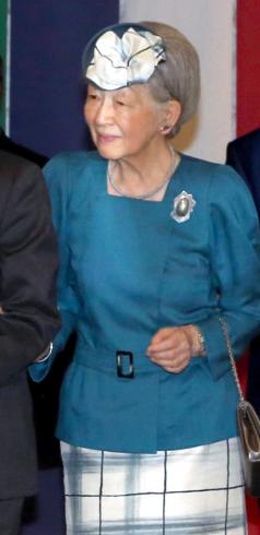 Empress Michiko, May 29, 2017   Royal Hats