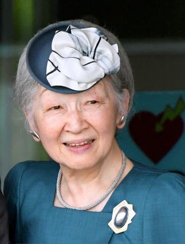 Empress Michiko, May 29, 2017 | Royal Hats