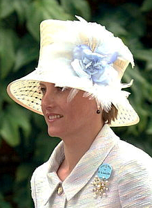 Countess of Wessex, June 20, 2001 | Royal Hats