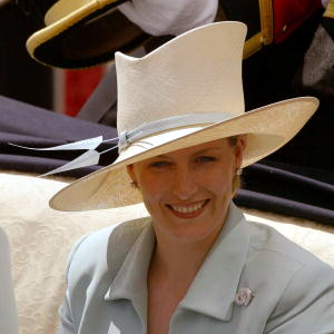 Countess of Wessex, June 19, 2002 in Philip Treacy | Royal Hats