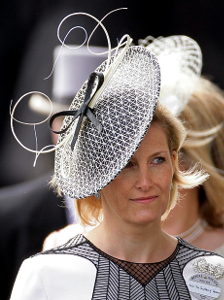 Countess of Wessex, June 15, 2010 in Rachel Trevor Morgan | Royal Hats
