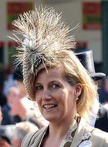 Countess of Wessex, June 17, 2010 in Philip Treacy | Royal Hats