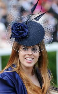 Princess Beatrice, June 17, 2010 in Philip Treacy | Royal Hats