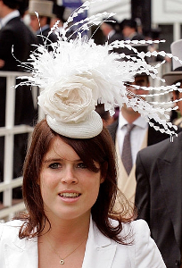 Princess Eugenie, June 19, 2010 in Philip Treacy | Royal Hats