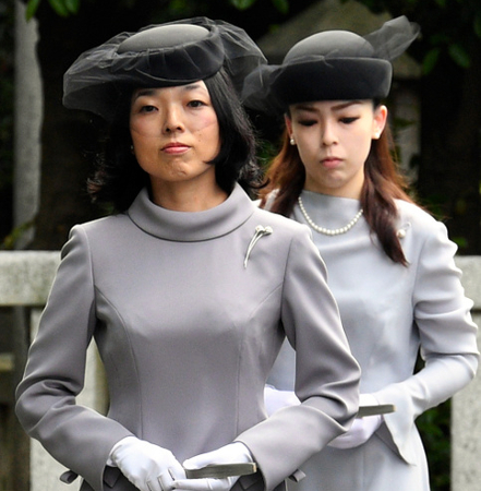 Princess Akiko and Princess Yoko, June 6, 2017 | Royal Hats