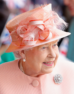 Queen Elizabeth, Jun 13, 2017 in RTM | Royal Hats