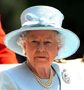 Queen Elizabeth, June 11, 2017 in Philip Somerville