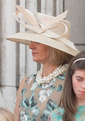 Julia Ogilvy, June 17, 2017 in Philip Treacy | Royal Hats