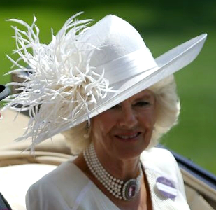 Duchess of Cornwall, June 20, 2017 in Philip Treacy | Royal Hats