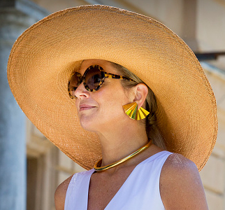 Queen  Máxima, Jun 21, 2017 in FD | Royal Hats