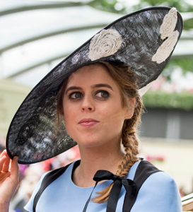 Princess Beatrice, June 22, 2017 in Nerida Fraiman | Royal Hats