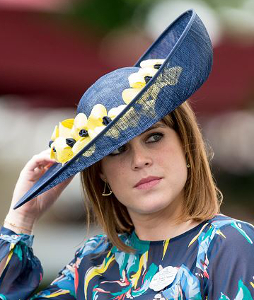 Princess Eugenie, June 23, 2017 in Bundle McLaren | Royal Hats