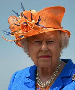 Queen Elizabeth, May 25, 2017 in Angela Kelly | Royal Hats