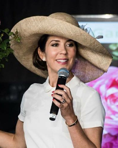 Crown Princess Mary, Jun 21, 2017 in Susanne Juul | Royal Hats