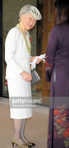 Empress Michiko, Aug 2, 2017 | Royal Hats