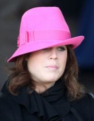 Princess Eugenie, Dec 25, 2009 | Royal Hats