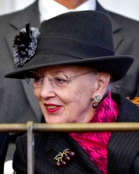 Queen Margrethe, Oct 1, 2013 | Royal Hats