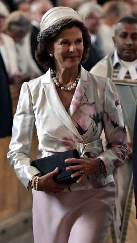 Queen Silvia, Sep 4, 2017 in Mode Rosa | Royal Hats