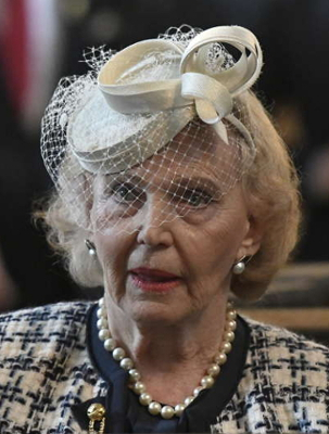Countess Marianne Bernadotte, Sep 4, 2017 | Royal Hats