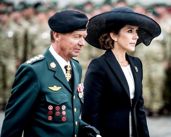 Crown Princess Mary, Sep 5, 2017 in Susanne Juul | Royal Hats