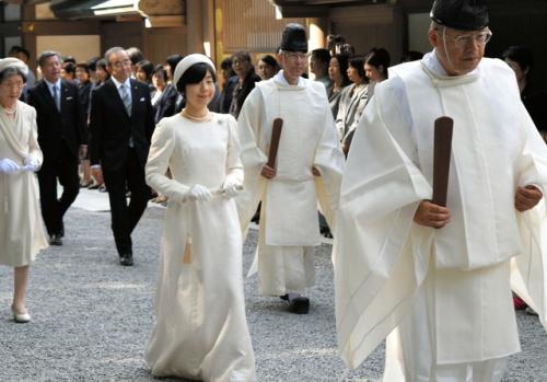 Sayako Kuroda, Sep 14, 2017   Royal Hats