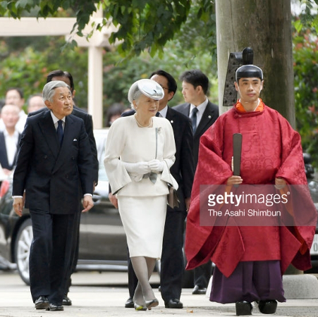 Empress Michiko, Sep 20, 2017 | Royal Hats